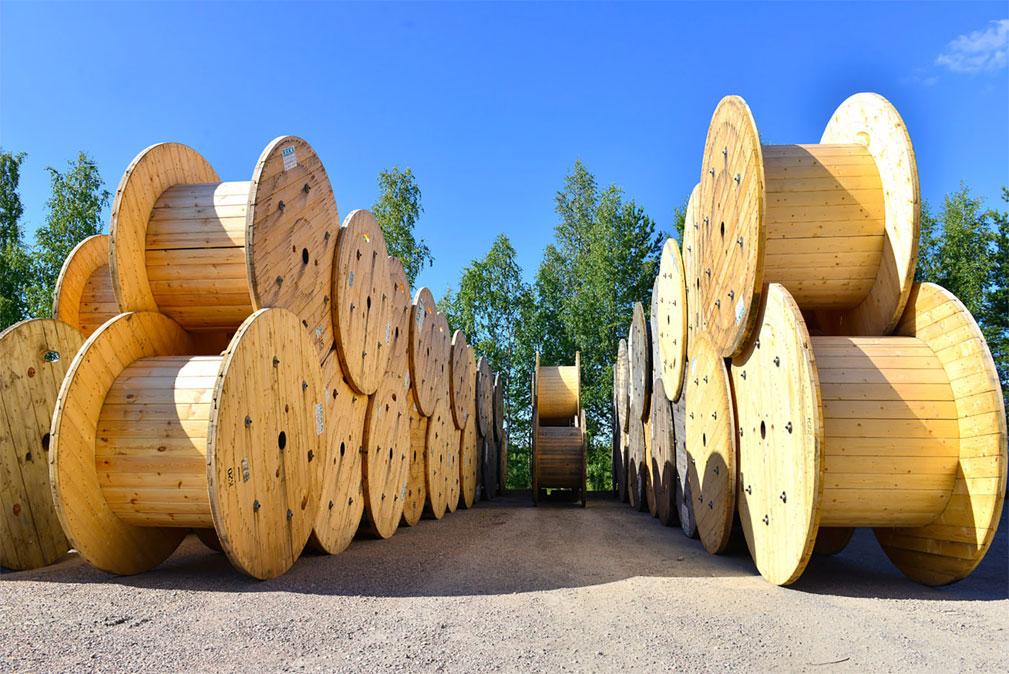 Кабельные деревянные барабаны Бизнес Плюс
